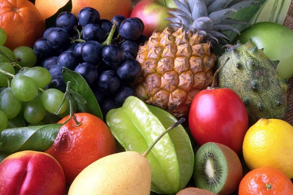 frutas nutrición