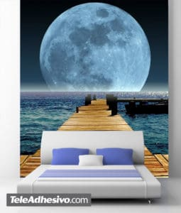 fotomurales luna