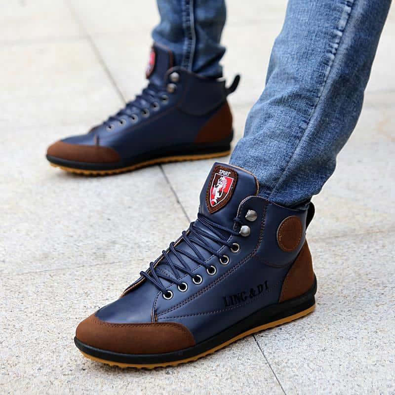botas casuales hombre