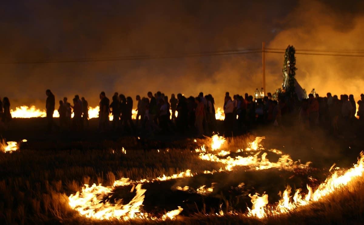 procesion del fuego