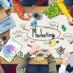master en marketing digital en un croquis