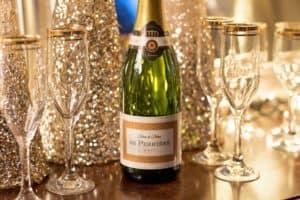 Champagne de navidad