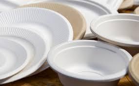 Plástico convencional vajillas desechables