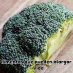 alimentos que pueden alargar tu vida